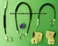VW POLO IV WINDOW REGULATOR REPAIR KIT FRONT LEFT